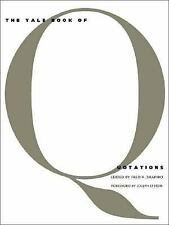 The Yale Book of Quotations (2006, Hardcover)