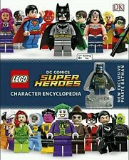 Super Heroes Character Encyclopedia LEGO DC Comics Visual Guide + New Minifigure