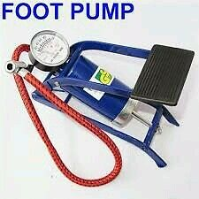 Foot Air Pump Heavy Compressor 8cm Cylinder Bike,Car,Cycles,& all other