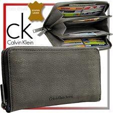 Calvin Klein RV Damen-Geldbörse Geldbeutel Portemonnaie Reißverschluss Börse Neu