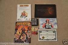 Duke Nukem Forever: Balls of Steel Xbox 360 PS3 Figure Art Chips Postcards Comic