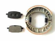 BRAKE PADS + DRUM BRAKE SHOES GY6 49CC 50CC SCOOTER MOPED
