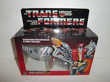 UNUSED 1985 G1 Transformers Dinobot **SWOOP** 100% Complete Box & Bubble C9.5!!