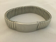 Stainless Steel Medical Id Expansion Bracelet - DIABETES
