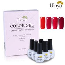 Ukiyo Any 6 Colors Soak Off Wine Red Changing Nail Gel Polish Set Box