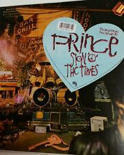 "PRINCE ""Sign o the times""gold stamp PROMO double LP Hype sticker & fan club card"