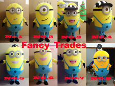 Ready Ship+Minions Despicable Me Mascot Costume EPE Fancy Dress For Adult Party
