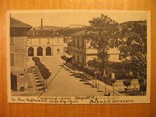 1943 AK Serravalle Libarna Piazza della Statione e Seminario Scrivia Piemont