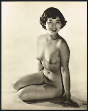 1950s VINTAGE Asian Japanese Female Nude John Everard Photogravure PHOTO PRINT d