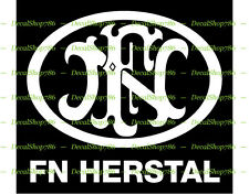 FN Herstal Firearms - Outdoor Sports/Hunting - Vinyl Die-Cut Peel N' Stick Decal