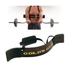 Golds Gym Biceps Isolator Blaster Barbell Bar Curl Weight Lifting Arm Training