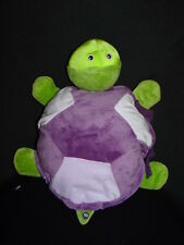 Plush Zoobies tortoise comes with a PURPLE  BLANKET INSIDE! THEY ZIP TOGETHER.