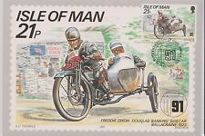 GB  Isle of Man 1991 Freddie Dixon 80th Ann TT Race Card 21p SG 452 VINTAGE BIKE
