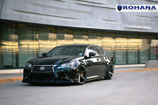 20x9 +35 20x10 +40 Rohana RC22 5x114 Graphite Wheels Fit Lexus GS350 2014 5x4.5
