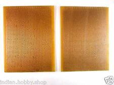 DIY Perforated single sided 4.5x5.5 Inch Prototype PCB Board (2 Piece)
