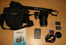 Canon EOS 350D / EOS Digital Rebel XT 8.0MP Digitalkamera - Schwarz (Kit mit...