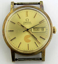 Vintage/Circa 1976 Men's Omega Automatic Watch-Day/Date-Swiss Made-Needs Repair