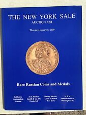 THE NEW YORK SALE Russian Coins Medals Markov Auction XXI Jan. 2009 Peter Great