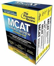 Graduate School Test Preparation: Princeton Review MCAT Subject Review...