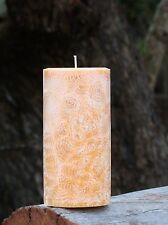 40hr PASSIONFRUIT & PAPAYA Triple Scented NATURAL CANDLE Tropical Fragrances
