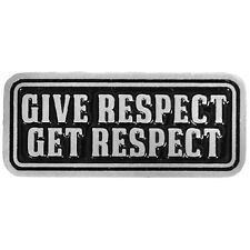 Give Respect  JACKET VEST OUTLAW MC BIKER PIN