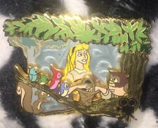 Disney Pin Classics Briar Rose Aurora Sleeping Beauty Animals Critters Rare Le