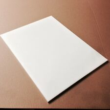"24"" x 30"" x 1/4"" Thick White Plastic (HDPE) Cutting Board  - FDA/NSF/USDA"
