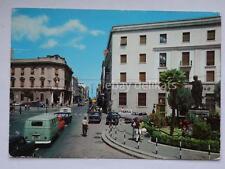 BRINDISI Piazza del popolo e corso animata vecchia cartolina