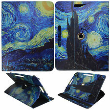 "Starry Art For Nextbook Flexx 10.1""  inch Tablet Syn Leather Case Cover 360"