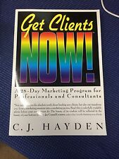 AF-1 Get Clients Now! A 28-Day Marketing Program for Professionals and Consulta