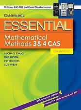 Essential Mathematical Methods CAS 3 and 4 Enhanced TIN/CP Version by Sue Avery…