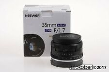 SONY NEEWER 35mm f/1,7 MF für Sony E-Mount - SNr: AF11F0274