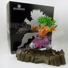 "DragonBall Z Dragon Ball Super Saiyan Broly 16cm/6.4"" PVC Figure New In Box #02"