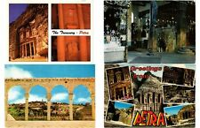JORDANIA JORDAN 45 Middle East Postcards Mostly 1965-2000 VOYAGÉE USED!