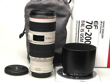 Canon EF 70-200mm f4 L IS USM - excelente-.