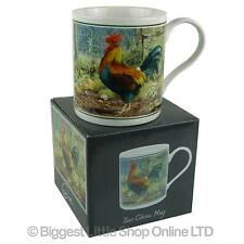 NEW Fine China Rooster MUG/CUP by Cachet Farmyard Collection Cockerel Gift Boxed