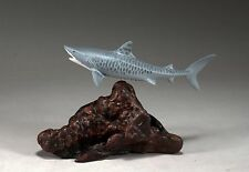 Tiger Shark Sculpture New Direct from John Perry Statue Art: Length 8in