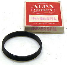 Alpa INVERSFIL lens adapter ring, boxed MINT