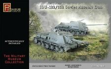 PEGASUS HOBBIES 7670-ISU 122 / 152 SOVIET FUCILE D'ASSALTO SCALA 1:72 KIT IN PLASTICA