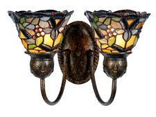 Tiffany Style Double Wall Light