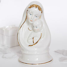 Religious, Madonna with child statue, H:14.5, Christening, Communion,christmas