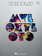 Coldplay Mylo Xyloto Sheet Music Piano Vocal Guitar SongBook NEW 000307396