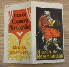 Papiers a cigarettes publicitaire biere de montmorillon complet  a voir