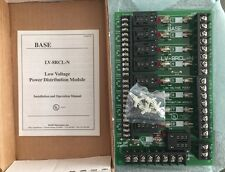 New BASE ELECTRONICS LV-8RCL-N LOCK RELAY BOARD New