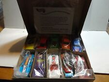 Hot Wheels Revealers 10 Car Set w/Prize Car & Certificate