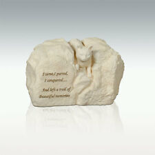Perfect Memorials Cat Stone Cremation Urn I Came, I Purred, I Conquered...