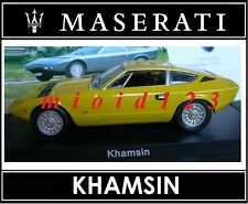 1/43 - Maserati 100 Years Collection : KHAMSIN [1973] - Die-cast