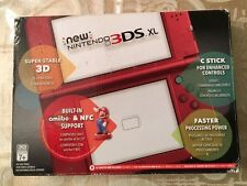 Nintendo new 3DSxlred: Includes red carrying case,6foot wall charger,Mario kart7