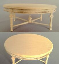 "Dollhouse Miniature ""JASMIN"" COFFEE TABLE   MM-007-UF  DIRECT FROM BESPAQ"