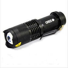 7W 300LM Zoom CREE Q5 LED Flashlight Torch Adjustable Focus Zoom Light Lamp New